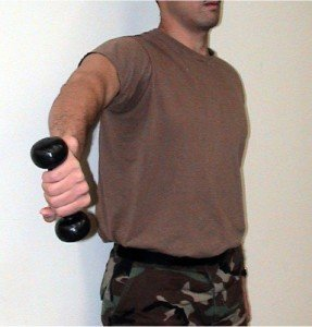Picture of Empty Can Exercise