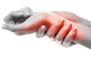 pain in arm and wrist