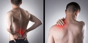 gallbladder pain and back pain