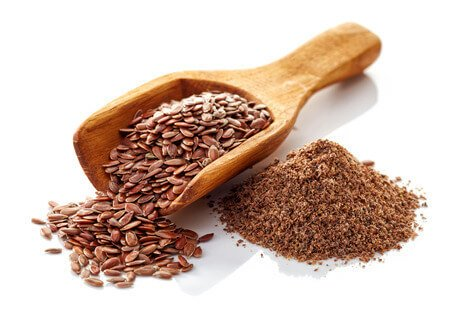 Flax seeds orange poop treatment