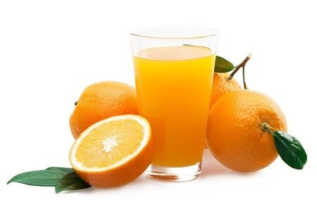 Freckles orange juice treatment