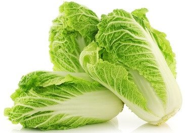 calcium in chinese cabbage