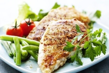 chicken breast protein