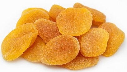 dried apricots iron
