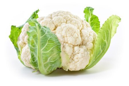 fiber in cauliflower