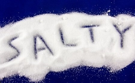 how much sodium is in salt