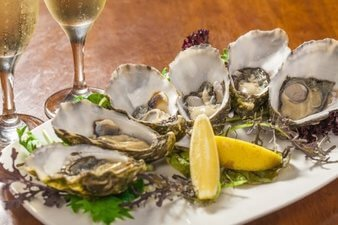iron in oysters