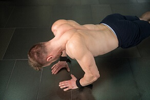 narrow grip push ups