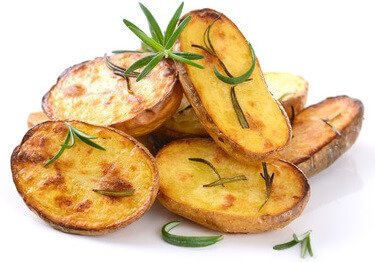 Potassium in baked potato