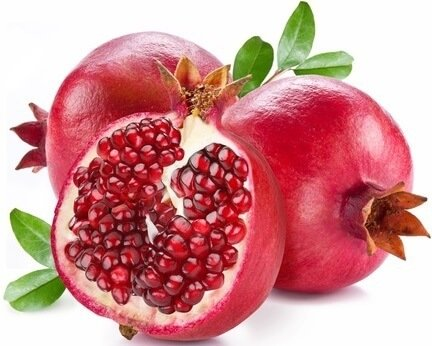 potassium in pomegranate