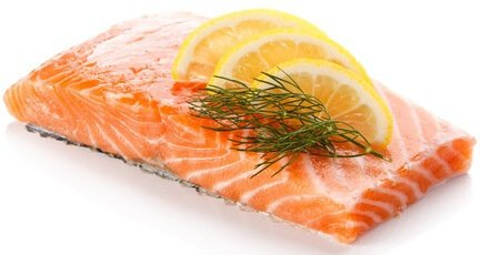 potassium in salmon