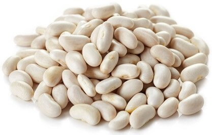 potassium in white beans