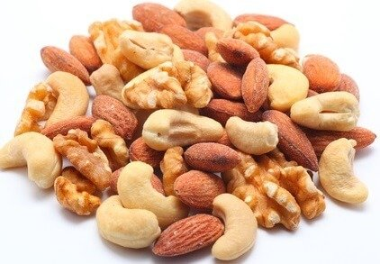 protein in mixed nuts
