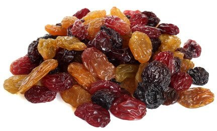 selenium in raisins