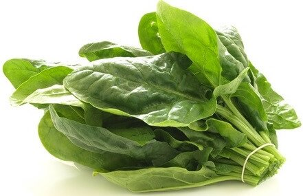spinach vitamin a