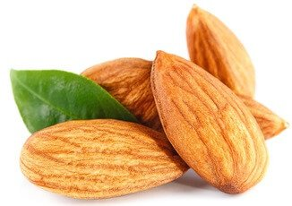 sugar in almonds