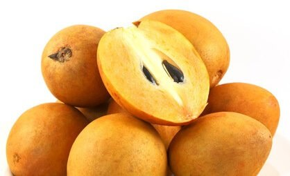 sugar in sapodilla