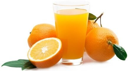vitamin d in orange juice