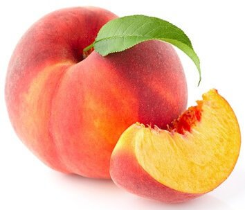 vitamin a in peaches